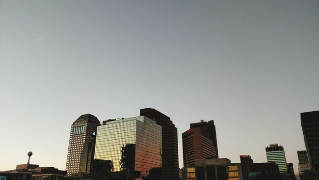 City Cityscapes Sunset Cool USA Columbus Ohio Bluejackets