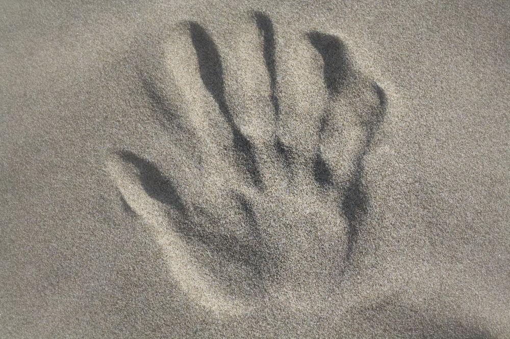 Beach Beach Photography Beutiful  Close-up Handprint In The Sand Nature Oregon Coast Taking Photos Oregoncoast Outdoors Sand Sand & Sea