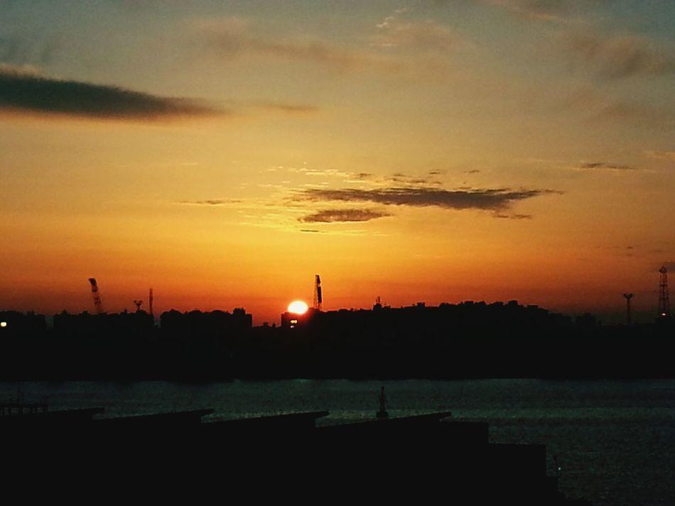 Sunset Egypt SuzeCanal Top View EyeEm Best Shots Nature Summer Golden Hour First Eyeem Photo