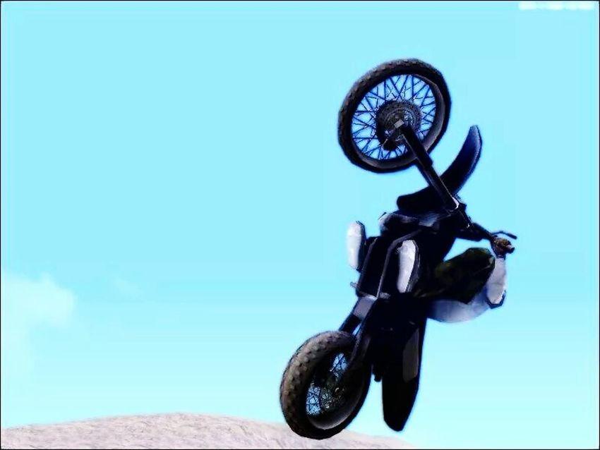 Gtasa lel :v Motocross Desert