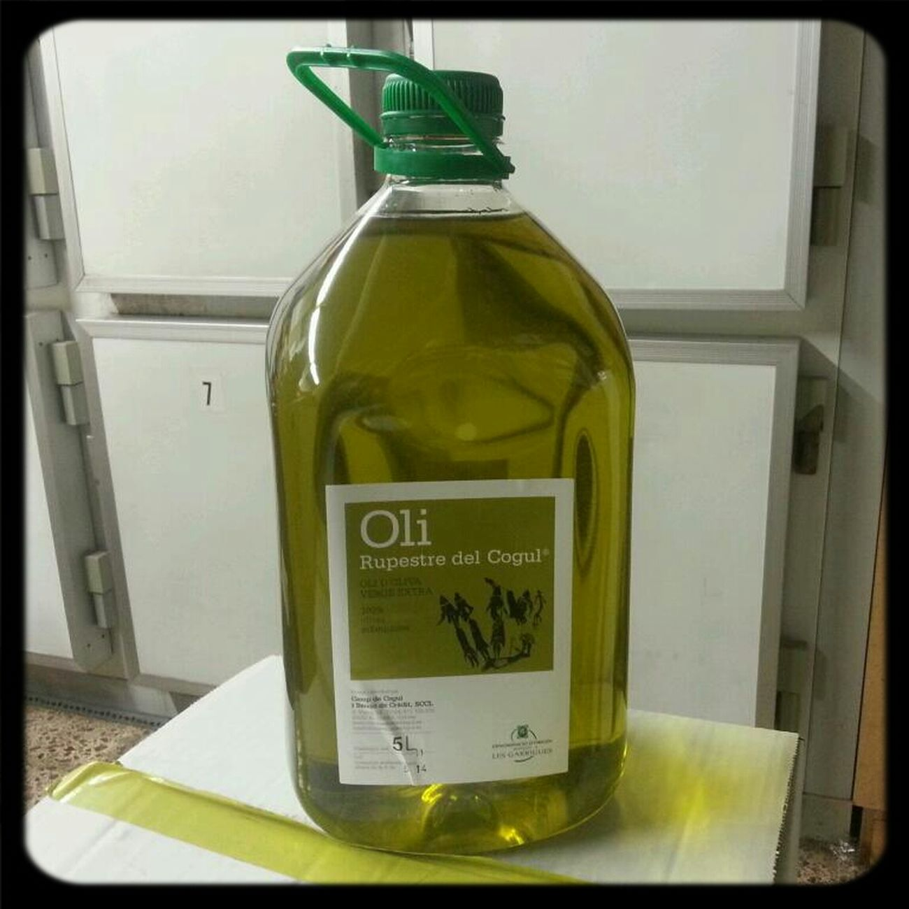 The Best Virgin Oil; Just Pressed
