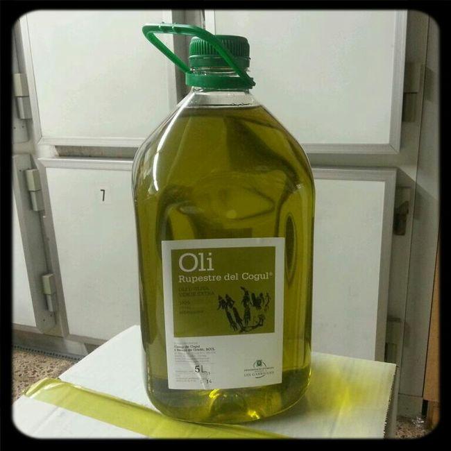 The Best Virgin Oil; Just Pressed