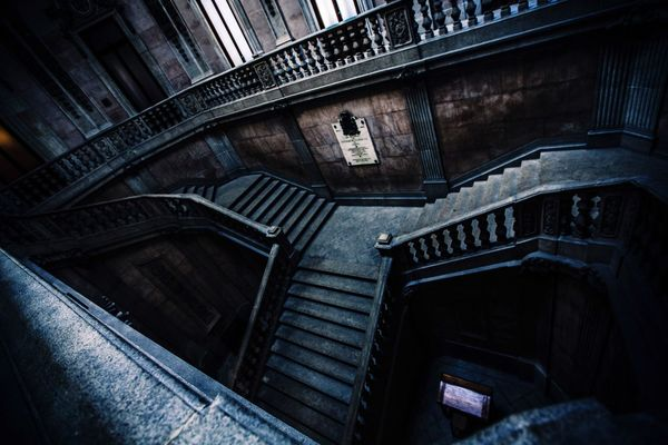 Stairs No People Steps Steps And Staircases Old Buildings Maze EyeEm Best Shots Laberinto Up & Down Grey Indoors  Architecture_collection Classic Palace My Year My View Finding New Frontiers The Secret Spaces