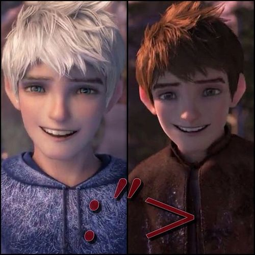 I fell in love with his S M I L E ❤❤ JackFrost InLovewithJackfrost RiseoftheGuardian Man ofmydreamCuteSMILE