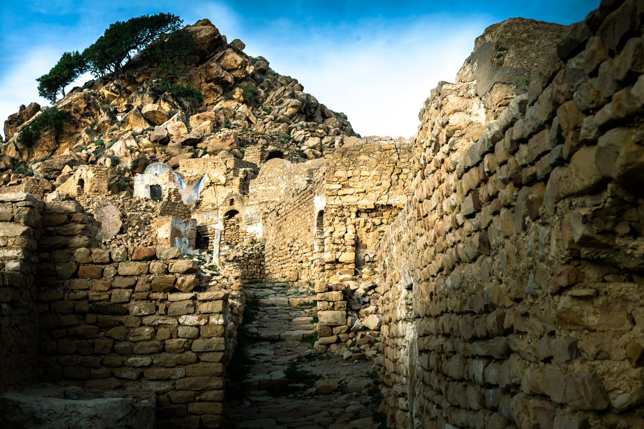Ruins Ruined Building Ancient Civilization Ancient History Amazigh Zriba_elolya Zaghouan Tunisie