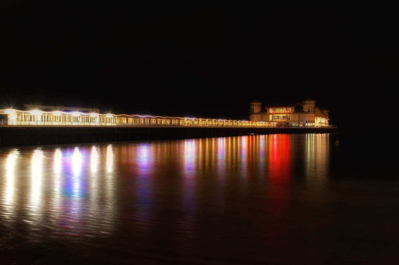 EyeEm Best Shots - Landscape Landscape Westonsupermare Pier Night Lights Long Exposure Beach