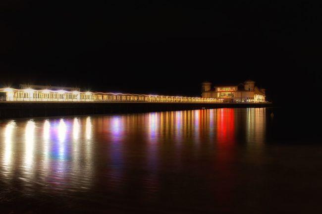 EyeEm Best Shots - Landscape Landscape Westonsupermare Pier Night Lights Long Exposure Beach