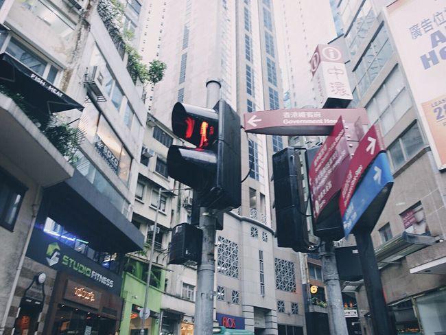 HongKong Travel Afternoon Cityscapes City Capture The Moment Photography Street China Hongkong Photos Hongkongbuildings Travel Photography Traveling Moments Hongkongstreet Capture Sign Rainy Days Signal Lamp Traffic Lights Way