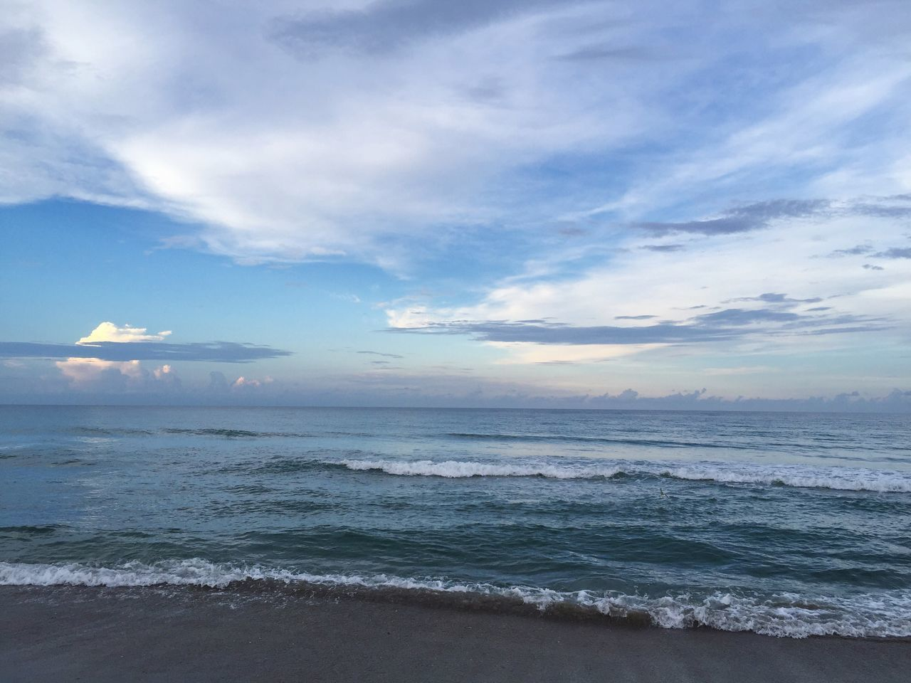 Sea Scenics Beauty In Nature Horizon Over Water Beach Sky Water Nature Tranquil Scene Cloud - Sky Tranquility Wave Outdoors Idyllic Sand No People Travel Destinations Day clouds in the sky at the beach Clouds Clounds And Sky Beachphotography Beach Life Beach Photography Beachlife