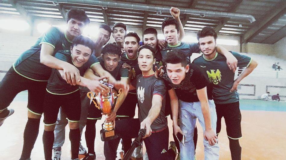winner cup afg ...First Eyeem Photo Football Training Football Life Soccer⚽ Playing Football Fitness Training Winner Afghanistan EyeEm Football Best Games FutsalTime Futsal Selfie