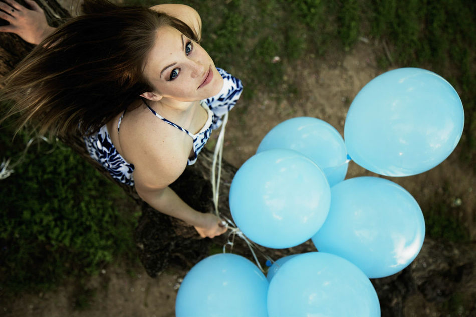 Life! Adult Balloon Girls Young Adult Close-up Child Itsaboy  Genderreveal Portrait Portrait Of A Woman Shooting Down Outdoors One Girl Only Beauty Mother Motherhood Mother's Day