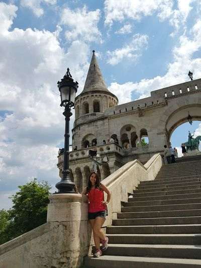 Budapest Tourism Castle Castle Tower Structures And Architecture Europe Eurotrip EyeEm Eyeemphotography Eyeem Photography Sky Trip Vacation Happy Architecture History Steps Modeling Perspective Neighborhood Map