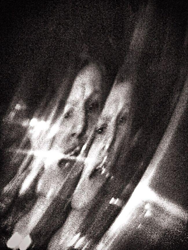 Self Portrait Portrait Female Iphonography Iphoneonly Blackandwhite Glass Broken Divided Shock Emotion Art