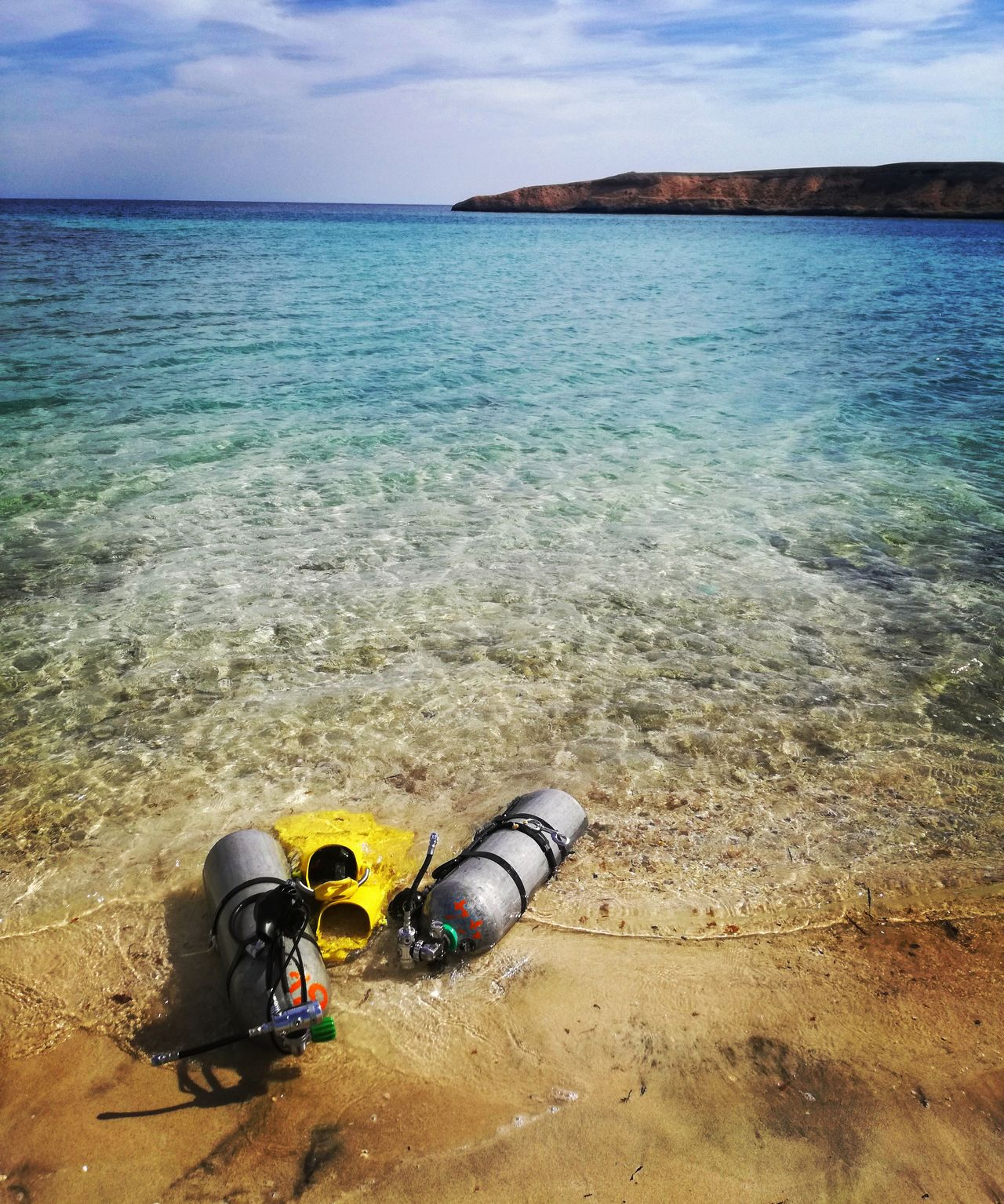 RedSea Sea Beach Sand Water Scuba Diving Sidemountdiving Sidemount Beauty In Nature UnderSea Scubadiving Egypt Egypt Marsa Alam Dugonghunt Nurkowanie Redsea Diving Nature Outdoors One Person Live For The Story
