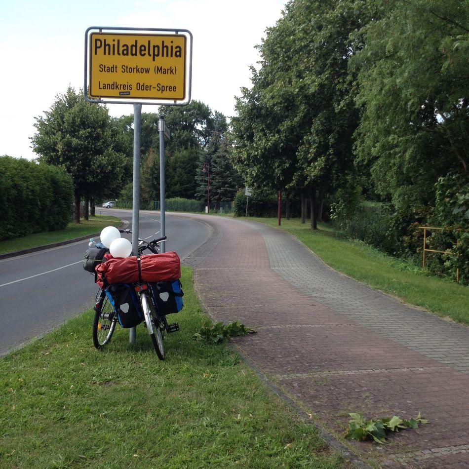 Road Road Sign Bikes Bike Tour Summer Philadelphia Countryside Journey Philadelphia In Germany Bikes With Balloons Balloons