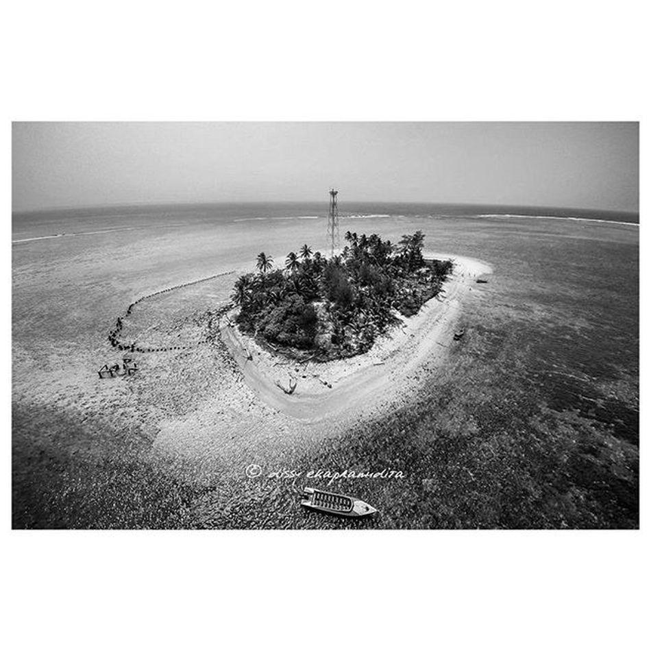 Bird eye view Pulautikus Bengkulu INDONESIA 1000kata Nationalgeographic Asiangeographic Blackandwhite Aerialphotography Djiphantom Djiphantomindonesia Instalike Instagram Instagood Instadaily