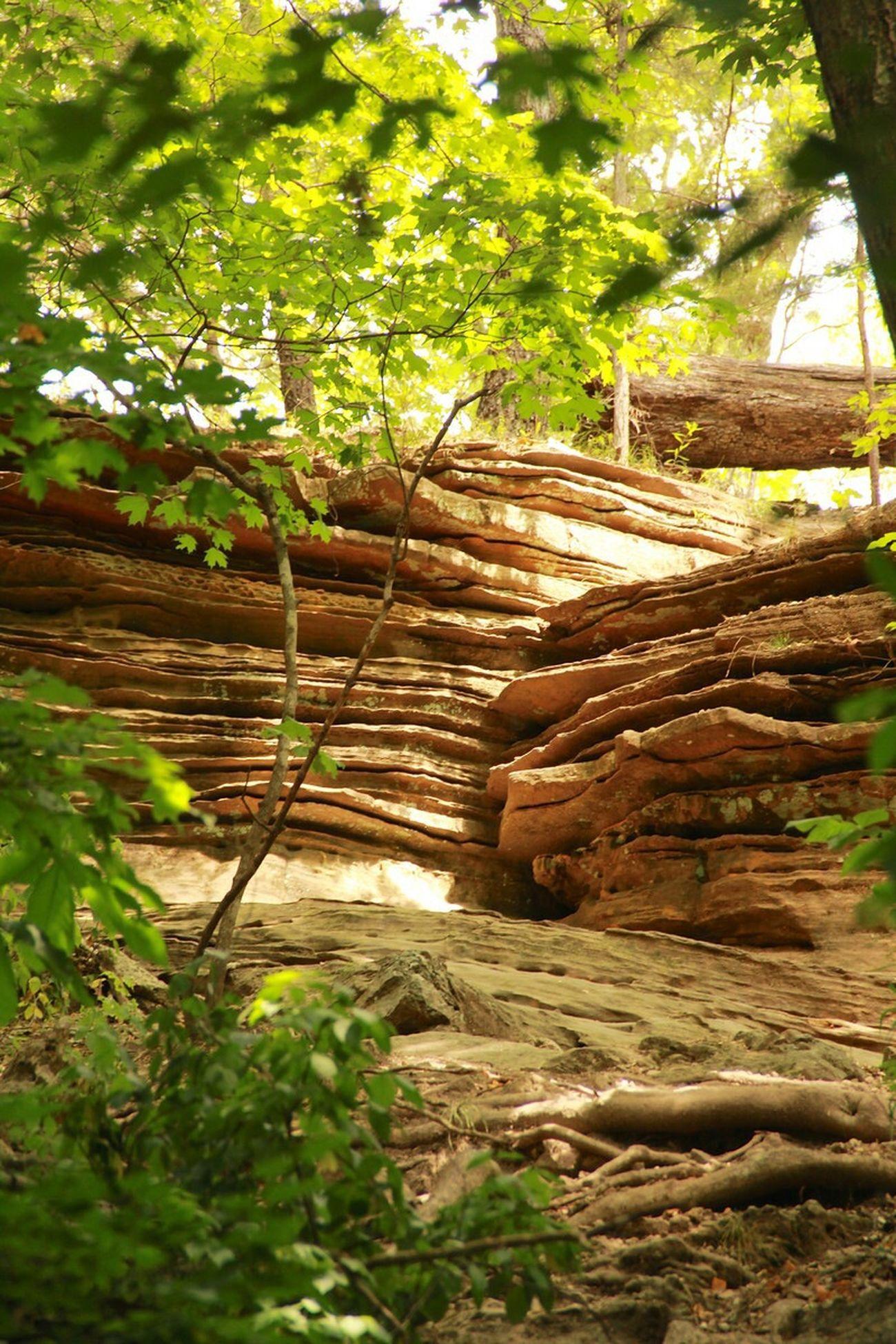 Rocks Stratification Nature