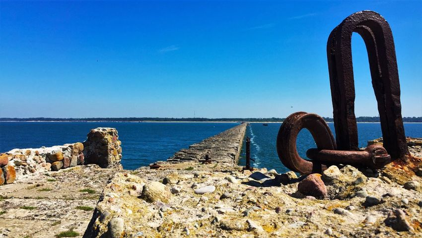 Old Mole Jetty Summer Sea Stones Old Buildings Pier Old Pier Abandoned Abandoned Places Baltic Sea Baltic Countries Baltic Baltic Coast Baltic States Latvia Liepaja Europe Northern Europe Eastern Europe Battle Of The Cities Dramatic Angles TakeoverContrast Focus Object Lost In The Landscape