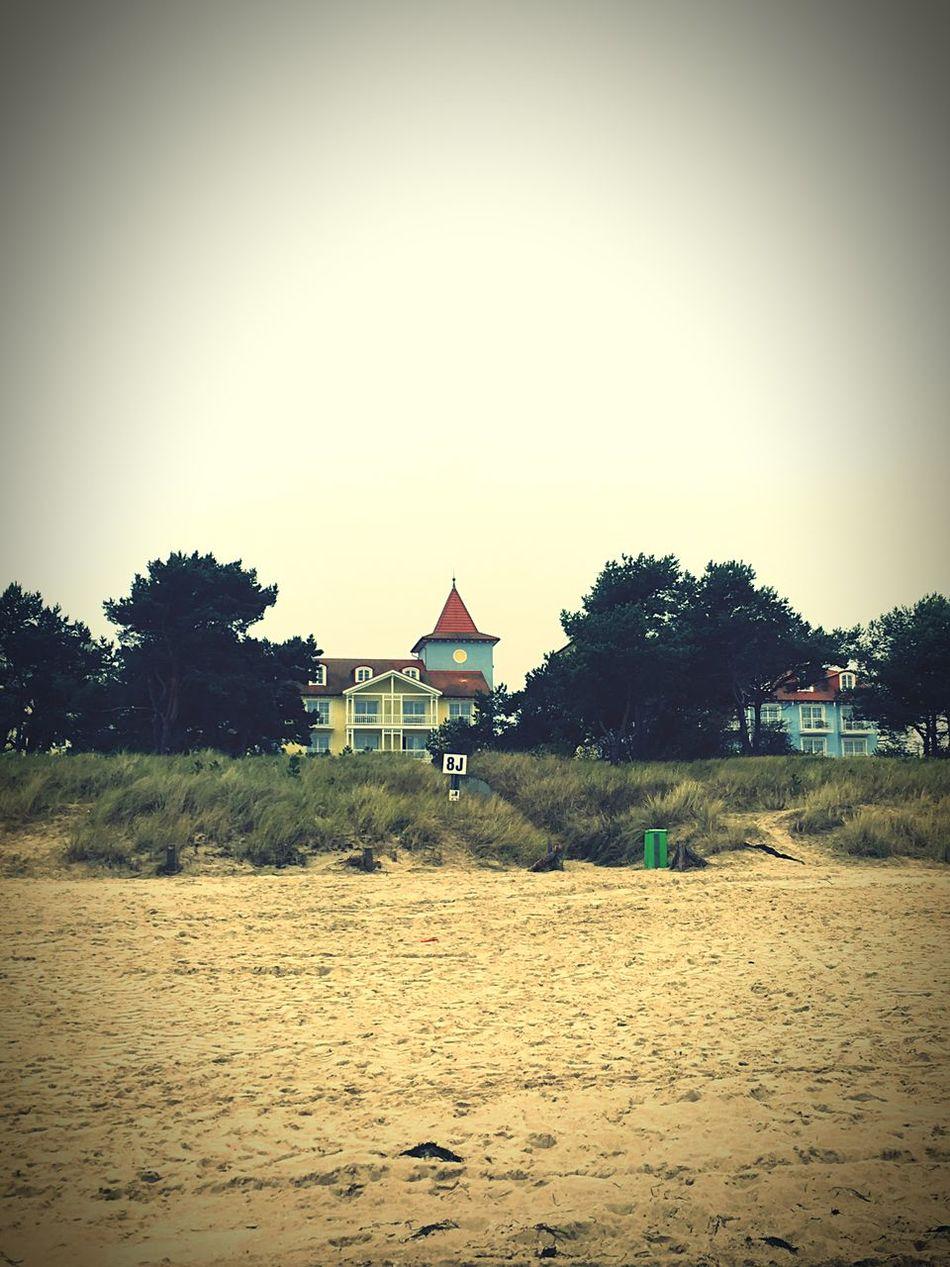 Architecture Sand Sandy Shore Usedom Baltic Sea Built Structure Façade Island Zinnowitz
