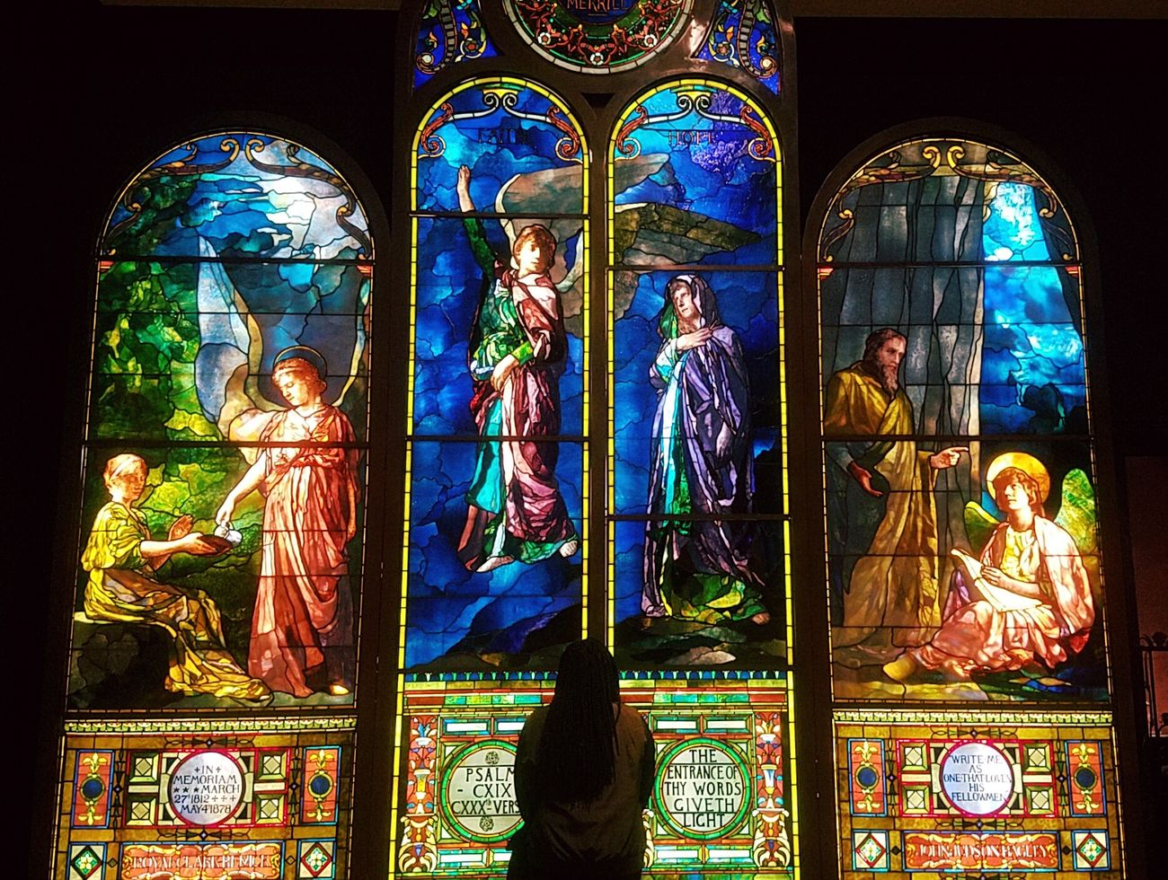 A quick visit to the Detroit Institute of Arts! Stained Glass Window Multi Colored Indoors  Art No People Day Detroit Detroit Michigan Michigan Detroit Institute Of Art Museum First Eyeem Photo