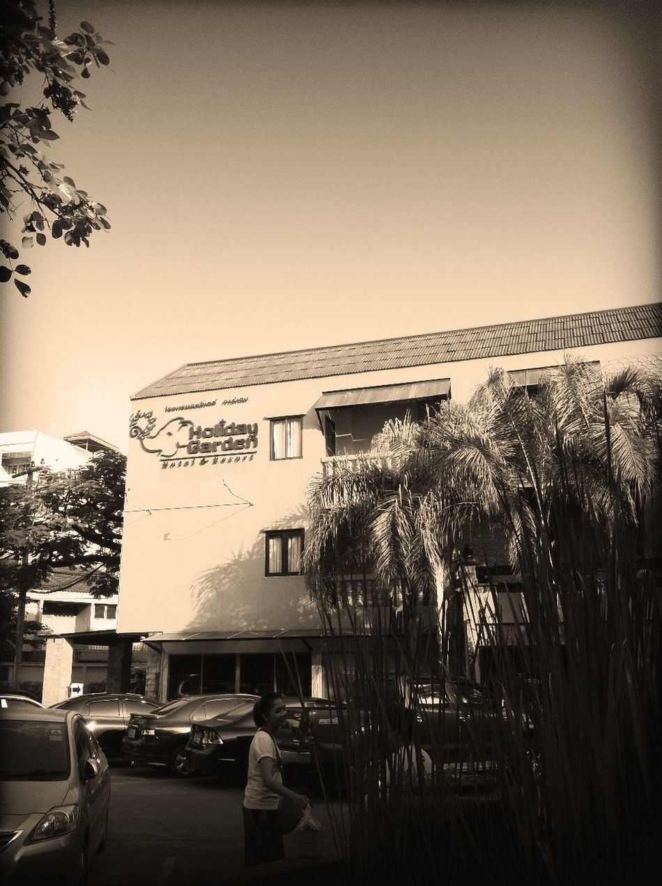 at Chiangmai Holiday Garden Hotel
