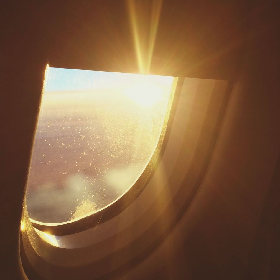 Beautiful stock photos of sunshine, Airplane, Close-Up, Day, Glass