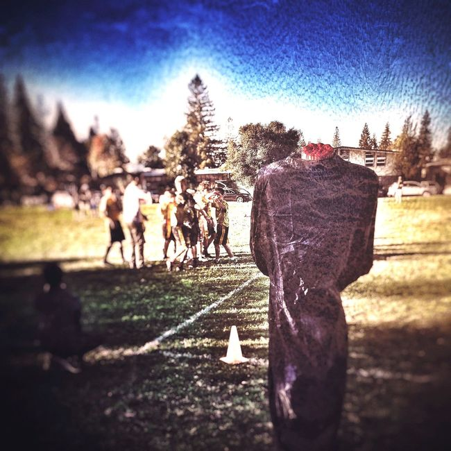 Flagfootball The Headless Man Halloween