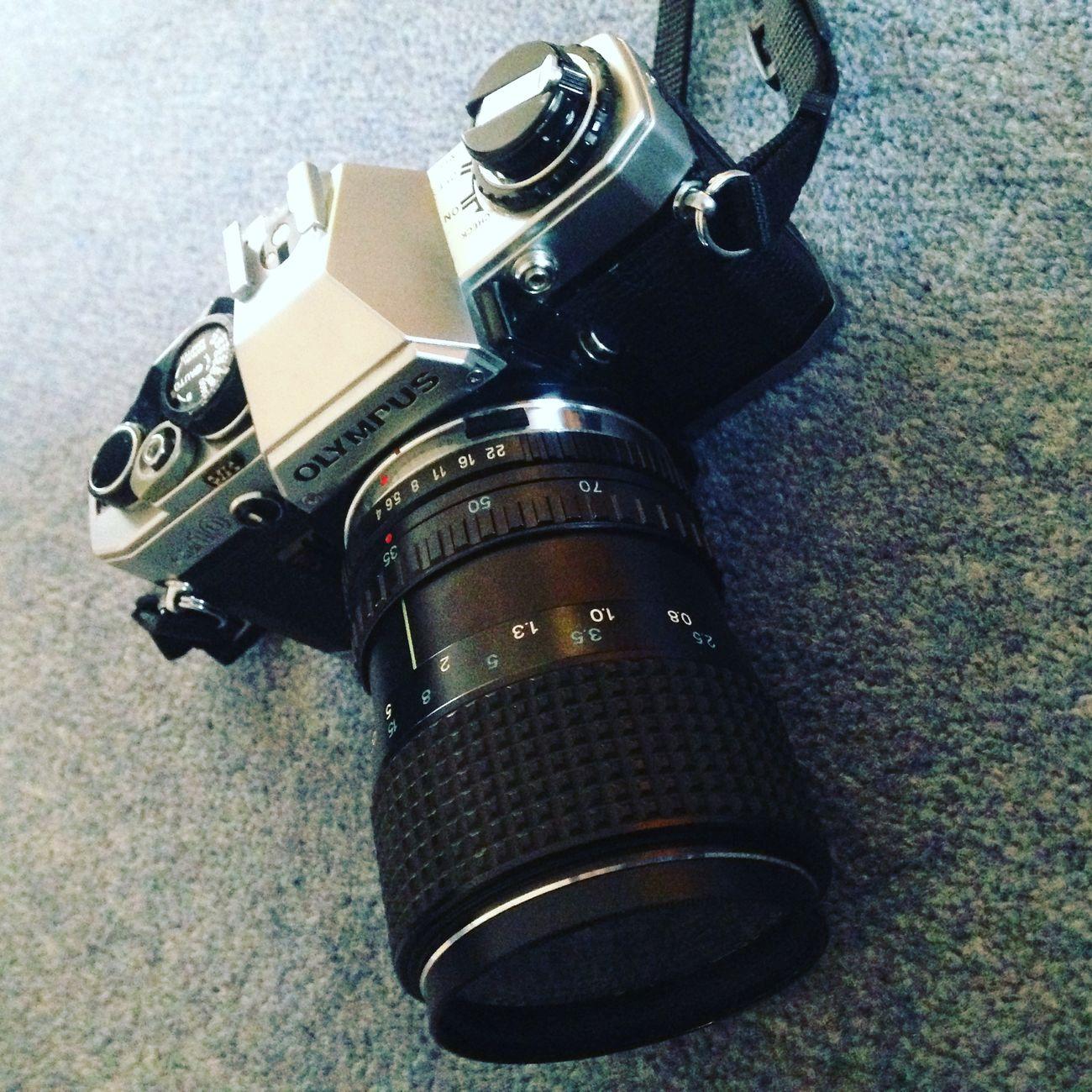 New film camera of mine Olympus Olympus Om10 Film Photography First Eyeem Photo