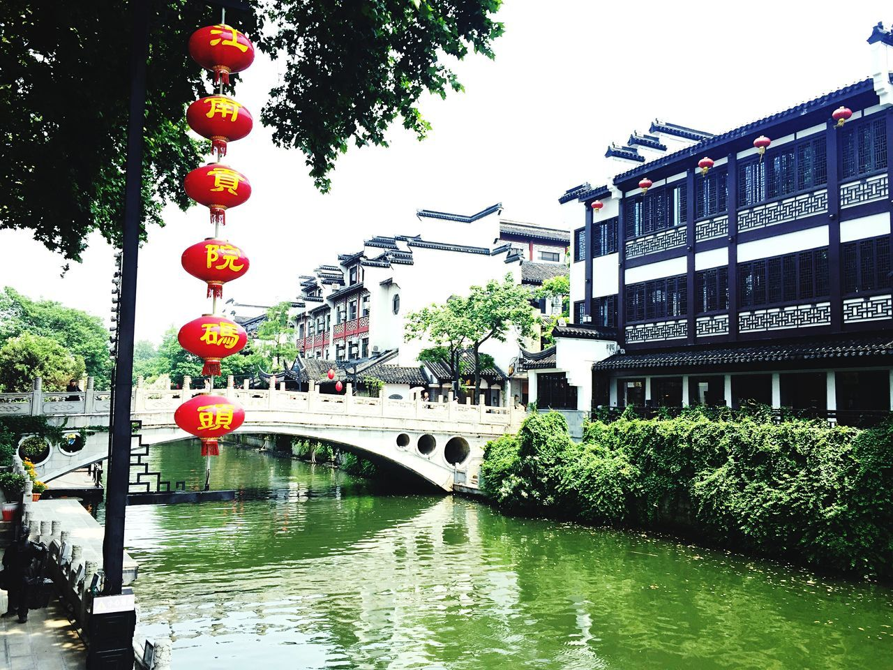 The Great Outdoors - 2016 EyeEm Awards Qinhuai River Green River Riverside Bridge
