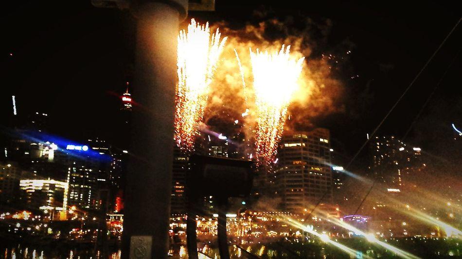 One Wild Night Sydney, Australia Darlingharbour Fridaynightvibes Fireworks
