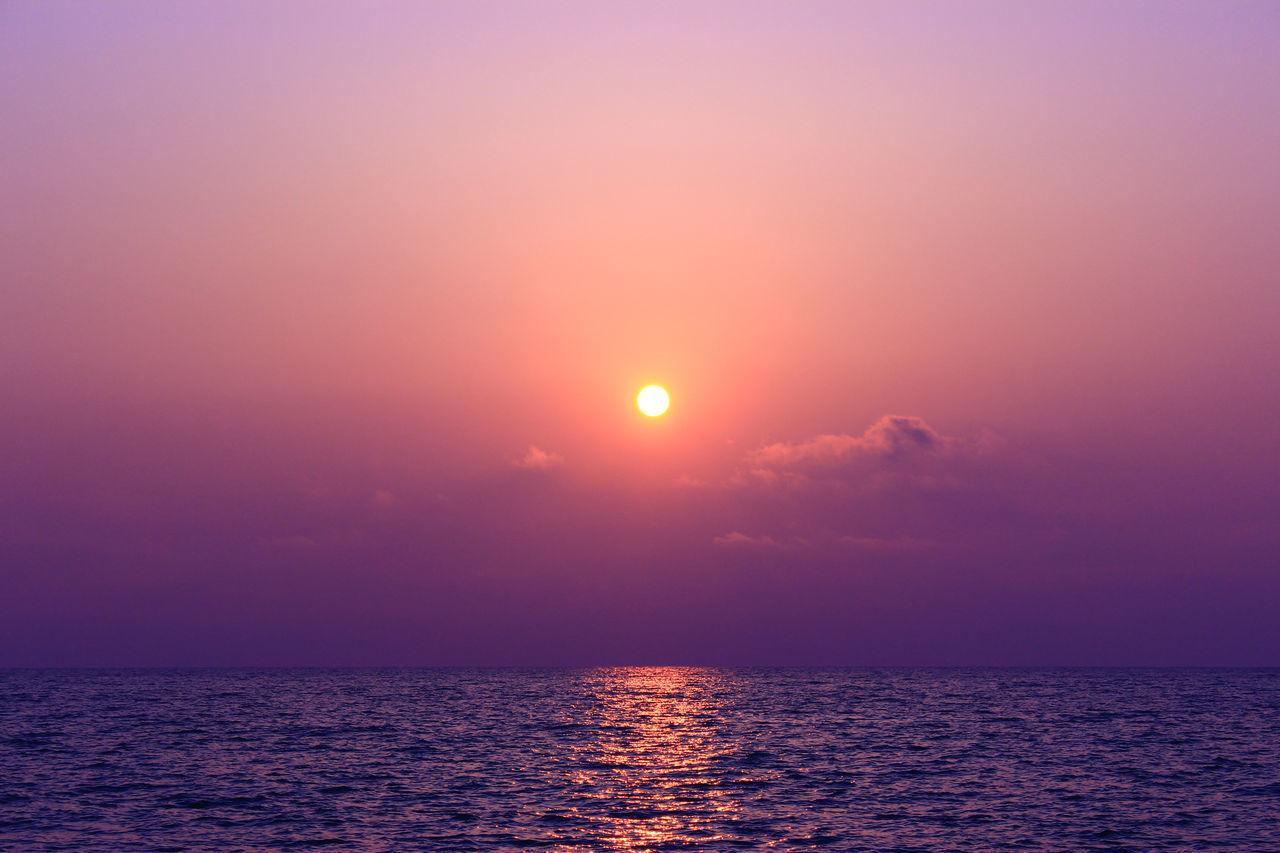 sunset Baeksu Coastal R Beautiful Beauty In Nature Golden Hour Korea Magic Hour Sea South Korea South Korea's HanRiver Sun Travel West Sea