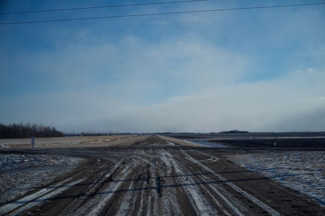 2-12-16 Cloud Composition Copy Space Fargo FootPrint Horizon Over Land Journey Landscape Leading Narrow Non-urban Scene North Dakota Outdoors Perspective Sand Dune Scenics Sky Speed The Way Forward Tranquil Scene Tranquility West Fargo