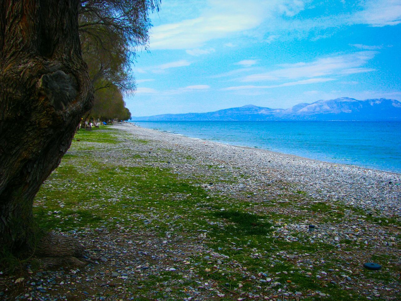 Beach Beach Photography Pebbles Pebble Beach Greece Landscapes Landscape Seascape The Secret Spaces Tranquility Scenics Water Beauty In Nature Outdoors Nature Sea Tree Sky Blue Sea Shades Of Blue Long Goodbye Mountain Mountain And Sea Lonely Beach Art Is Everywhere TCPM The Great Outdoors - 2017 EyeEm Awards Live For The Story