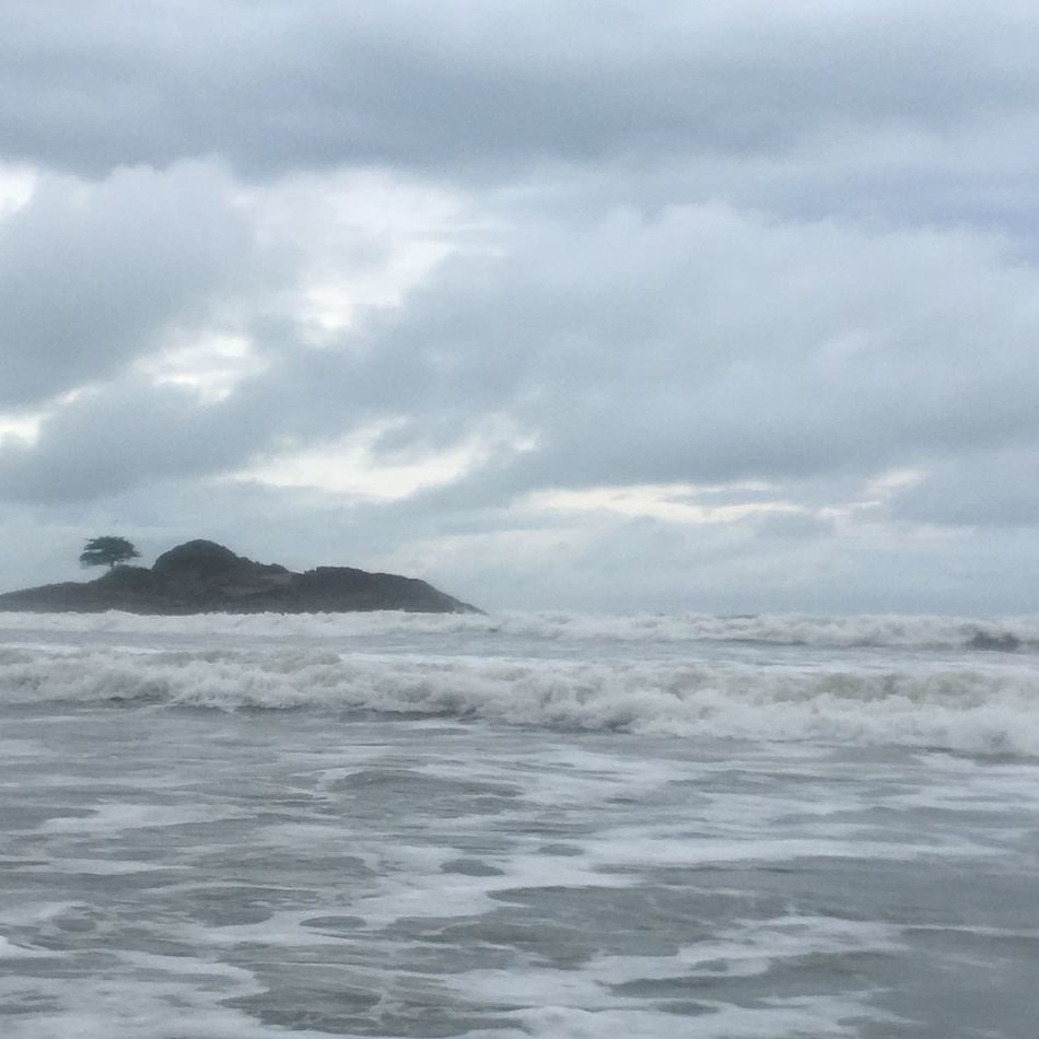 Miles Away Sea Sky Nature Water Beauty In Nature Outdoors Cloud - Sky Day No People Wave Cloud Cloudy Waves Waves, Ocean, Nature