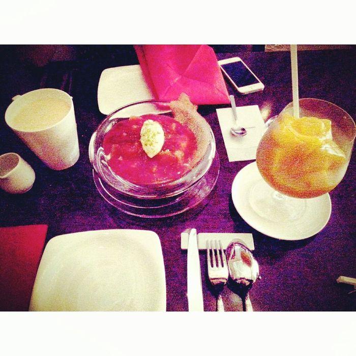 Sweet♡ Dessert Peach! Milkteabrown Mango Smoothie