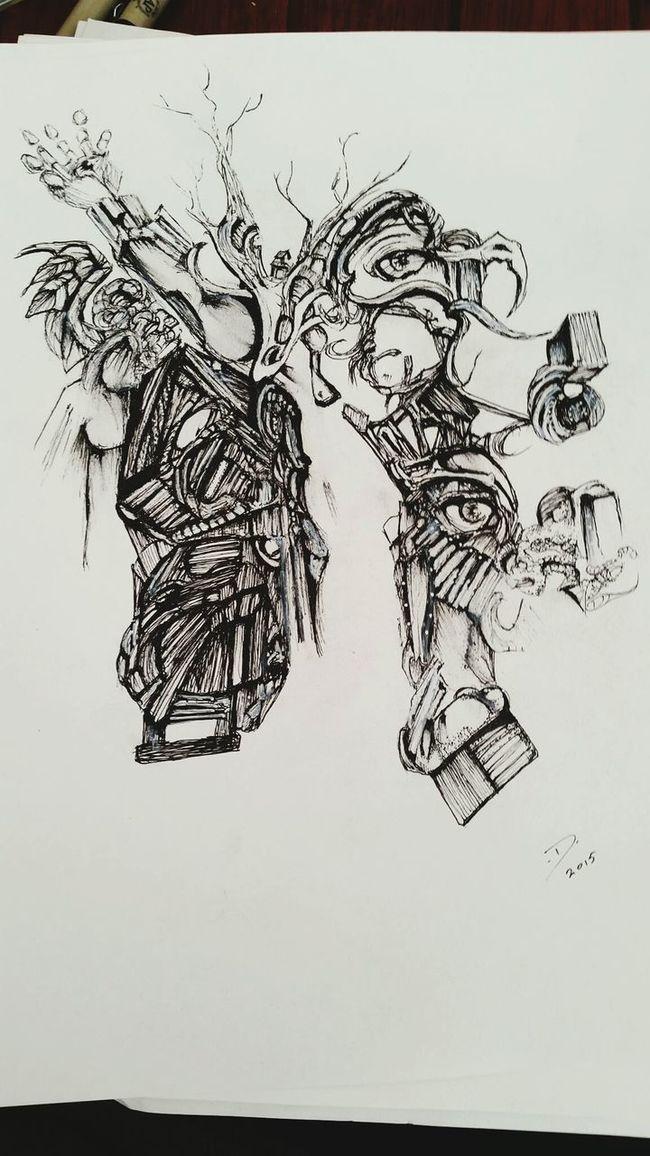 ThisIsNotOurLife Art Gallery Art, Drawing, Creativity Selftaughtartist BLINDsided STUDio ArtWork Artist Pen Drawing Spiritual Reflections Jesus Cross