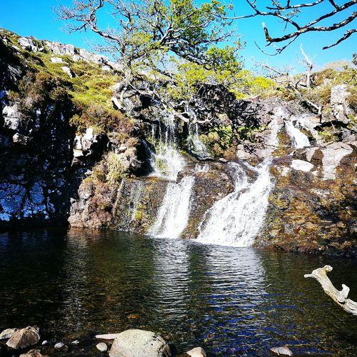 Neighborhood Map Isle Of Mull Waterfall Nature Outdoors Beauty In Nature