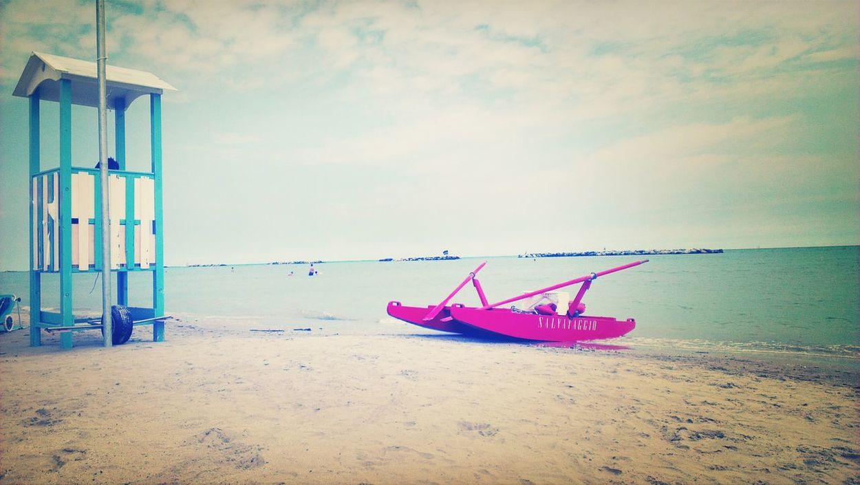 Relaxing Beach in Igea Marina Italia