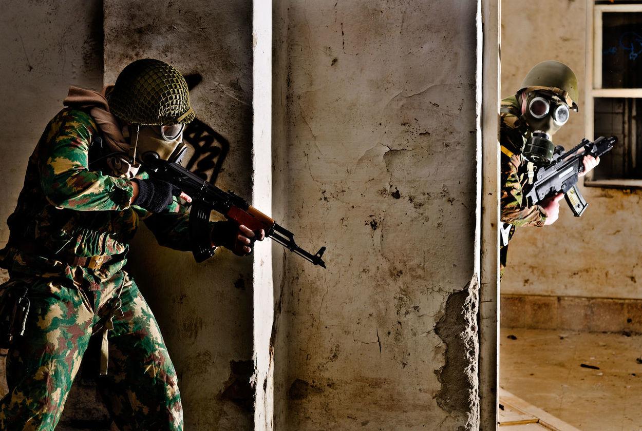 Airsoft AK47 Apocalypse Building Camouflage Carbine G36 Gas Gasmask Hide Kalashnikov Machinegun Mask Nikkor Nikon Nikon D7000 Nikonphotography Nuclear Rifle Shoot Shooting Soldier War Weapon Weapons