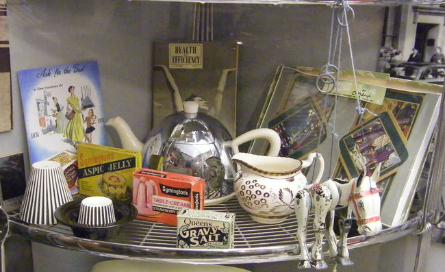 1957 20th Century Antiques Arrangement Chrome Teapot Health And Efficiency June 1957 Memories Muffin The Mule Muffin The Mule Toy Museum Museum Display Old Fashioned Retro Teapot Vintage 1950's 1960s Nostalgia Just Old Stuff Memorabilia Artefacts