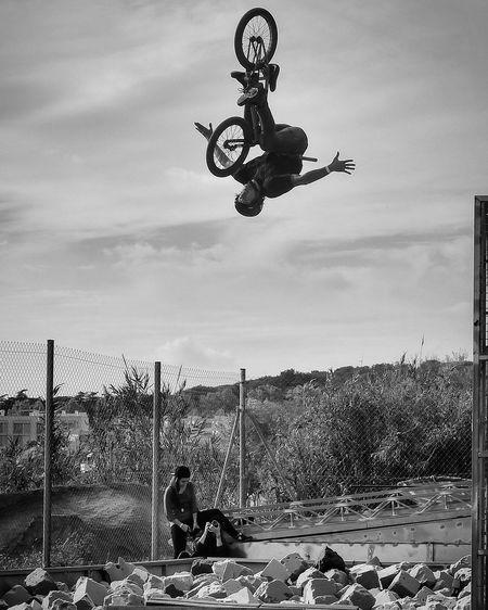 Dirt Jump Lapoma Bikepark Dirt Bike Bike Dirt Jumps Bnw Photography Blackandwhite Photography Fly