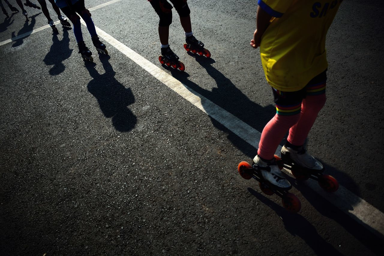 City Life eye4photography EyeEm Best Shots leisure activity light and shadow shadow shadows Silhouette skate sport street Sunlight Things I Like Alternative Fitness Up Close Street Photography