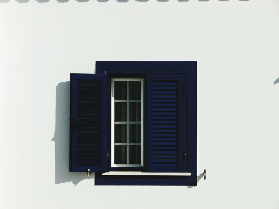 Window Building Exterior Architecture Built Structure Day No People Outdoors Close-up Minimalism Minimalobsession Architecture Blue