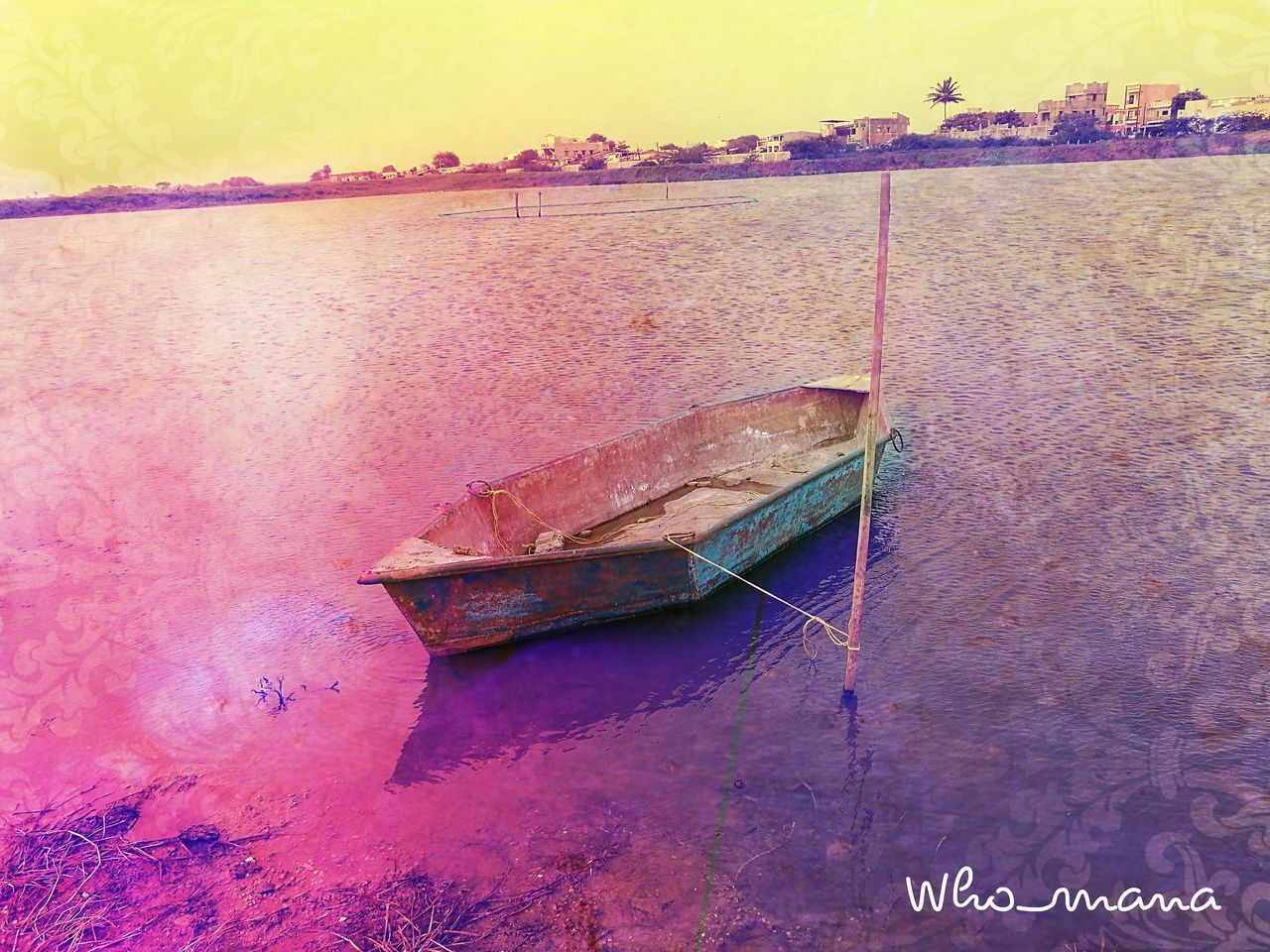 Abandoned fishing boat India Life Love ♥ Filters Are Fun Art Dreaming Original Experiences Layers And Colors Pixlr Blackandwhite Deadbutalive Myselfcoloursplash Scenery Grey Beauty In Nature Clouds