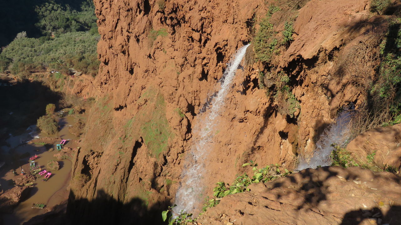 waterfalls dell'ouzoud top views Azilal Beauty In Nature Boats Morocco Nature Ouzoud Ouzoud Falls Trips Waterfalls