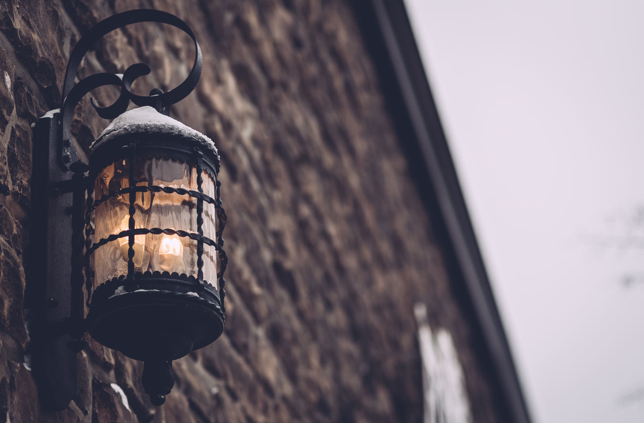 Architecture Building Exterior Built Structure Close-up Day Fancy Light Illuminated Lamp Lighting Equipment No People Old Style Lamp Side Of Wall