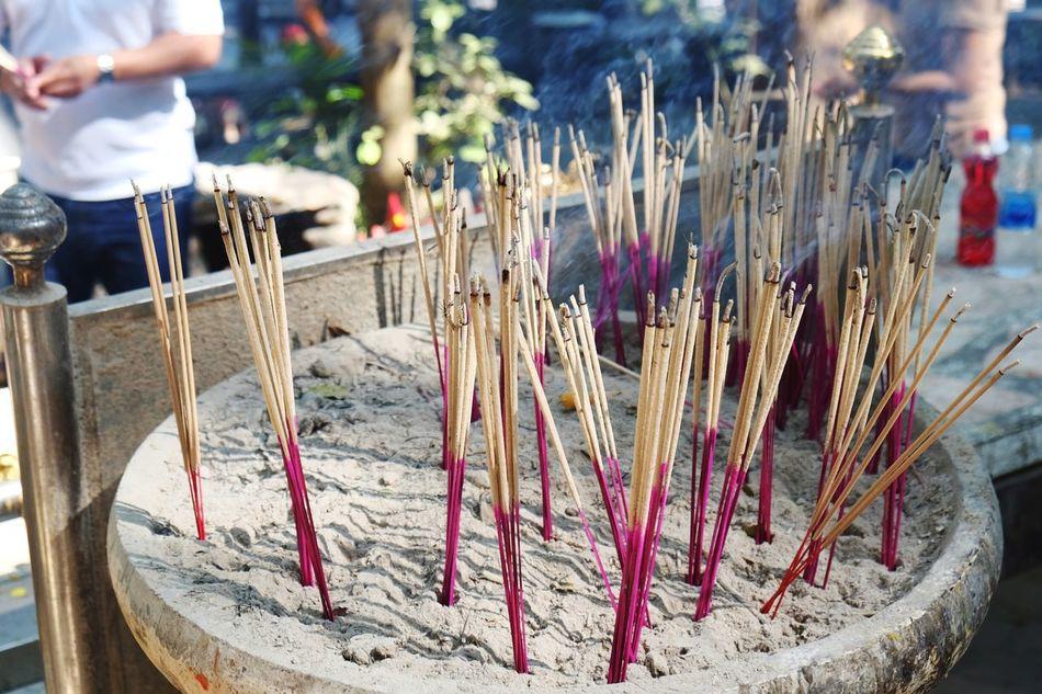 Incense Incense Sticks Incense Burner Pray Praying Smoke Thailand Thailandculture Worship Nakornrachasima Kaoyai