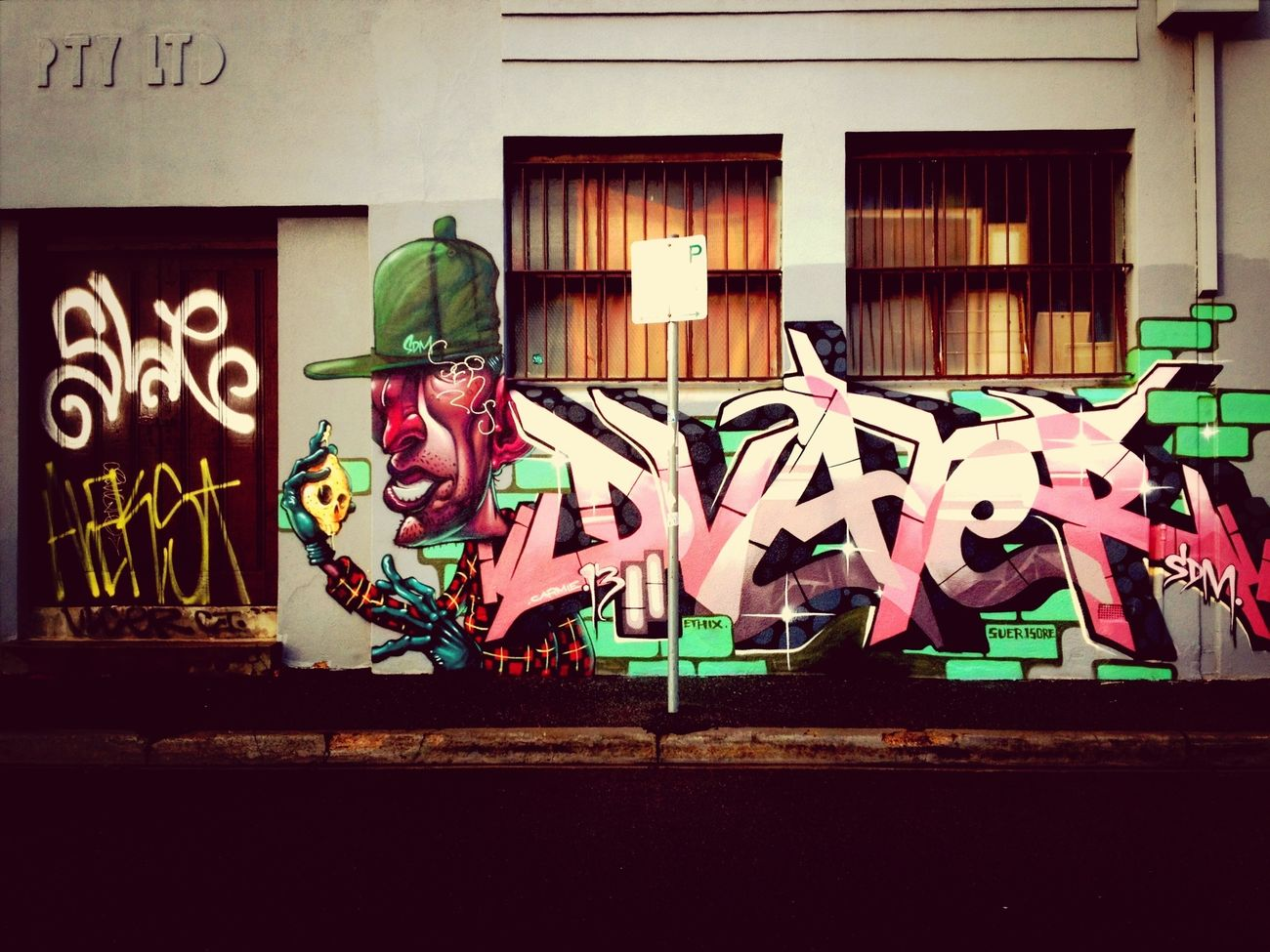 Graffiti Street Art Street Photography Collingwood