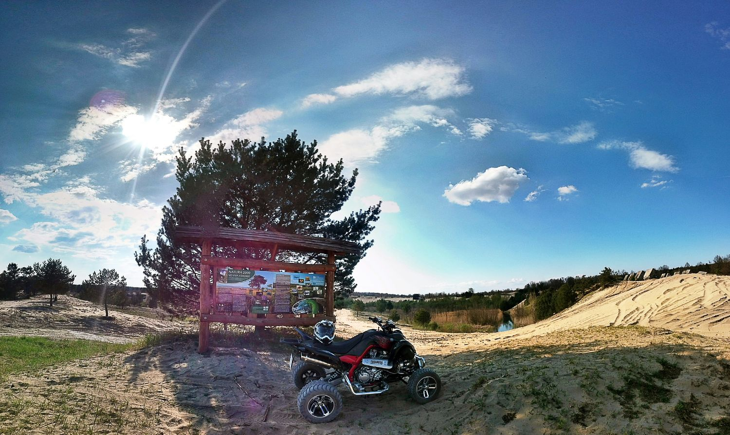 RAPTOR 700 Turbo Yakahosu Dahlback Racing Sunnyday Nature Yamaha Beautiful Day Sand