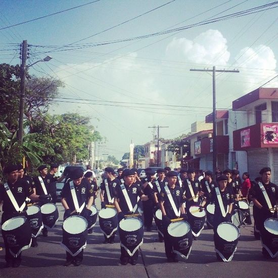 Bandadeguerra Jaguares 20denoviembre  Desfile